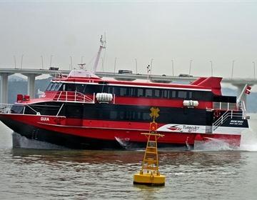 澳门氹仔码头至深圳蛇口码头-喷射飞航
